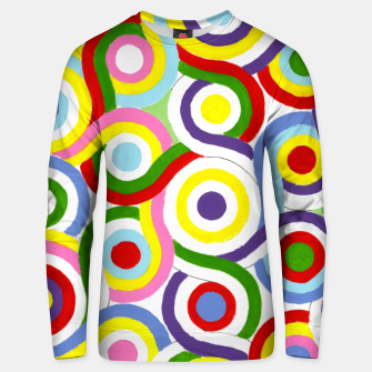 Thumbnail image of The Sympathy of Curves Series: Connection Unisex sweater, Live Heroes