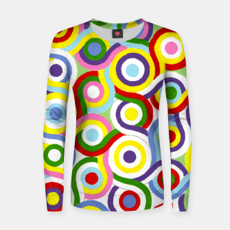 Thumbnail image of The Sympathy of Curves Series: Connection Women sweater, Live Heroes