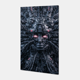 Miniatur Digital Goddess Reloaded Canvas, Live Heroes