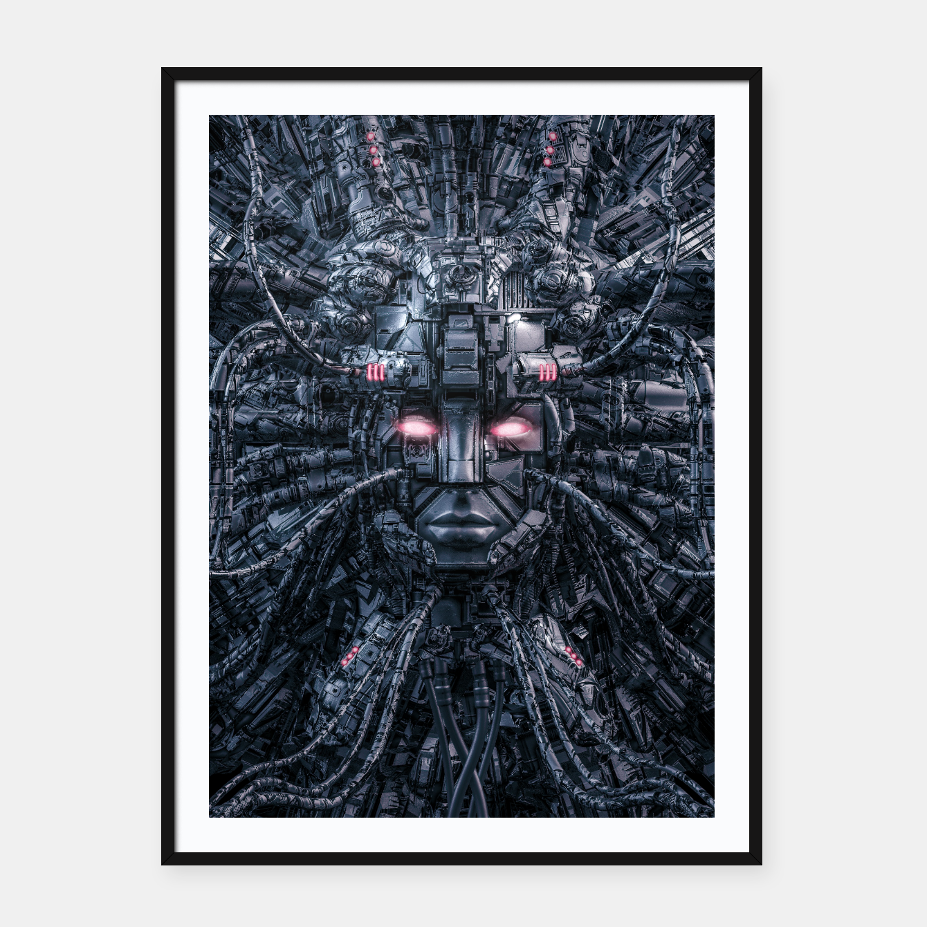 Foto Digital Goddess Reloaded Framed poster - Live Heroes