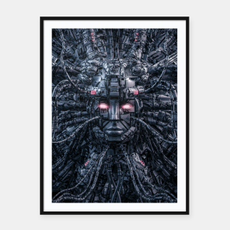Miniatur Digital Goddess Reloaded Framed poster, Live Heroes