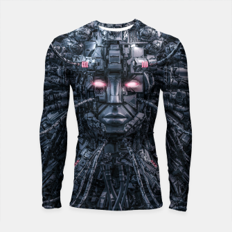Thumbnail image of Digital Goddess Reloaded Longsleeve rashguard , Live Heroes