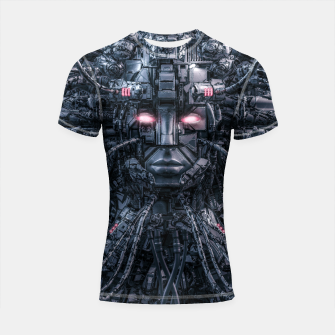 Thumbnail image of Digital Goddess Reloaded Shortsleeve rashguard, Live Heroes