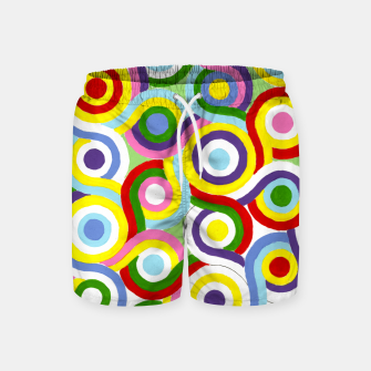 Thumbnail image of The Sympathy of Curves Series: Connection Swim Shorts, Live Heroes