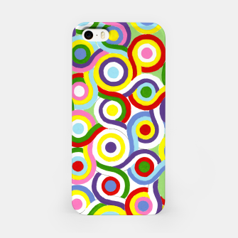 Thumbnail image of The Sympathy of Curves Series: Connection iPhone Case, Live Heroes