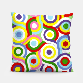 Thumbnail image of The Sympathy of Curves Series: Connection Pillow, Live Heroes