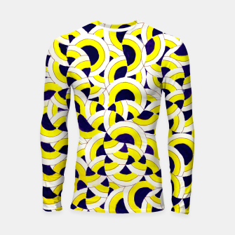 Thumbnail image of The Sympathy of Curves Series: Congregate Longsleeve rashguard , Live Heroes