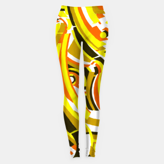 Thumbnail image of The Sympathy of Curves Series: Camaraderie Leggings, Live Heroes