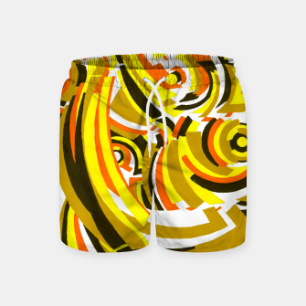 Thumbnail image of The Sympathy of Curves Series: Camaraderie Swim Shorts, Live Heroes