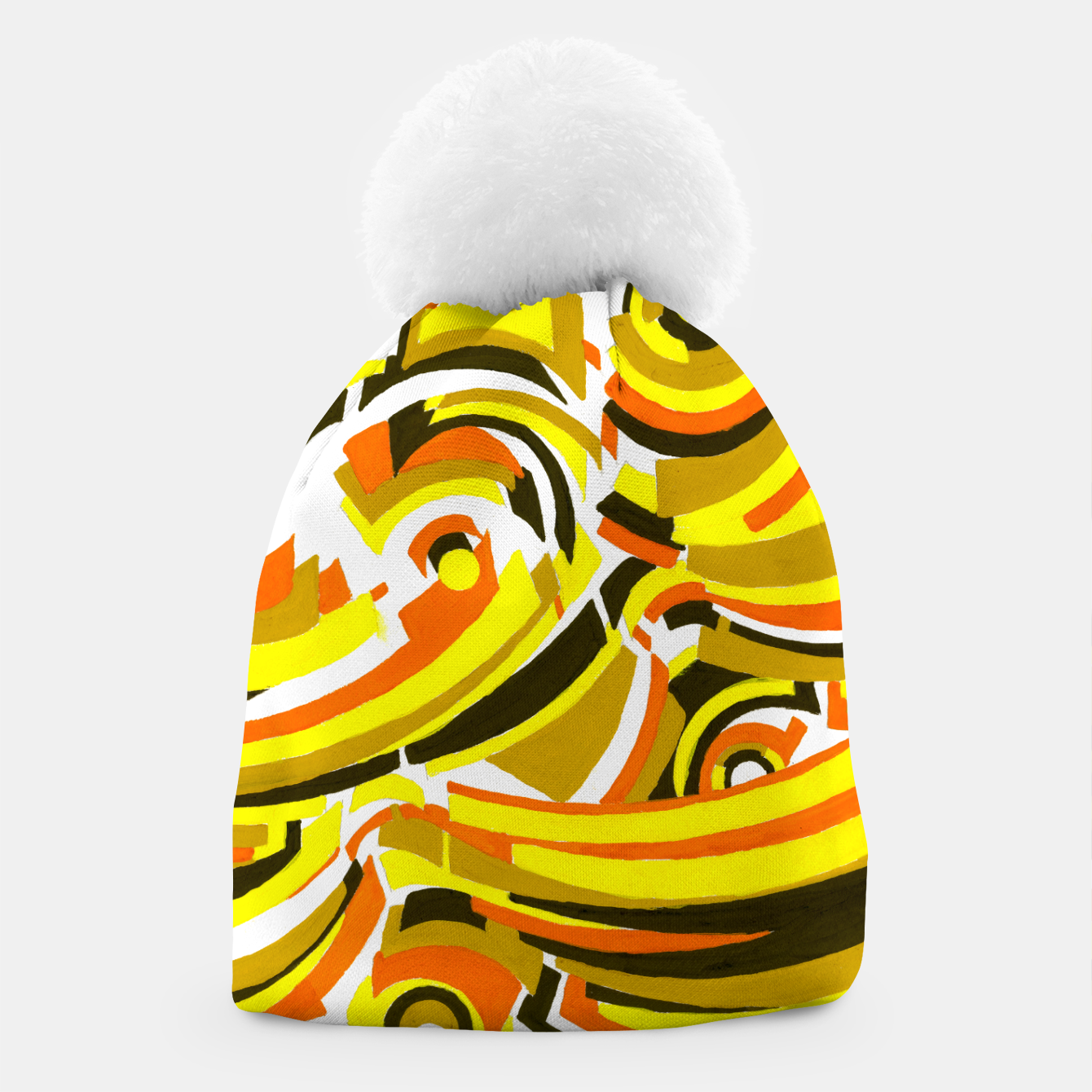 Image of The Sympathy of Curves Series: Camaraderie Beanie - Live Heroes
