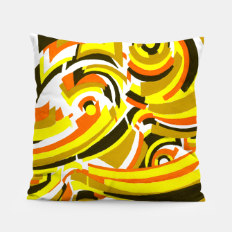 Thumbnail image of The Sympathy of Curves Series: Camaraderie Pillow, Live Heroes