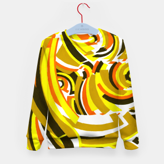 Thumbnail image of The Sympathy of Curves Series: Camaraderie Kid's sweater, Live Heroes
