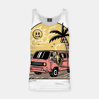 Miniatur Vacation Tank Top, Live Heroes