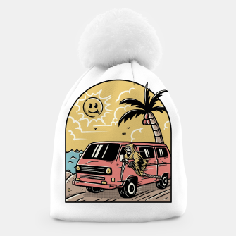 Miniatur Vacation Beanie, Live Heroes