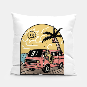 Miniatur Vacation Pillow, Live Heroes