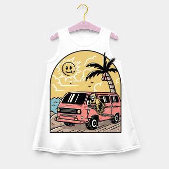 Miniatur Vacation Girl's summer dress, Live Heroes