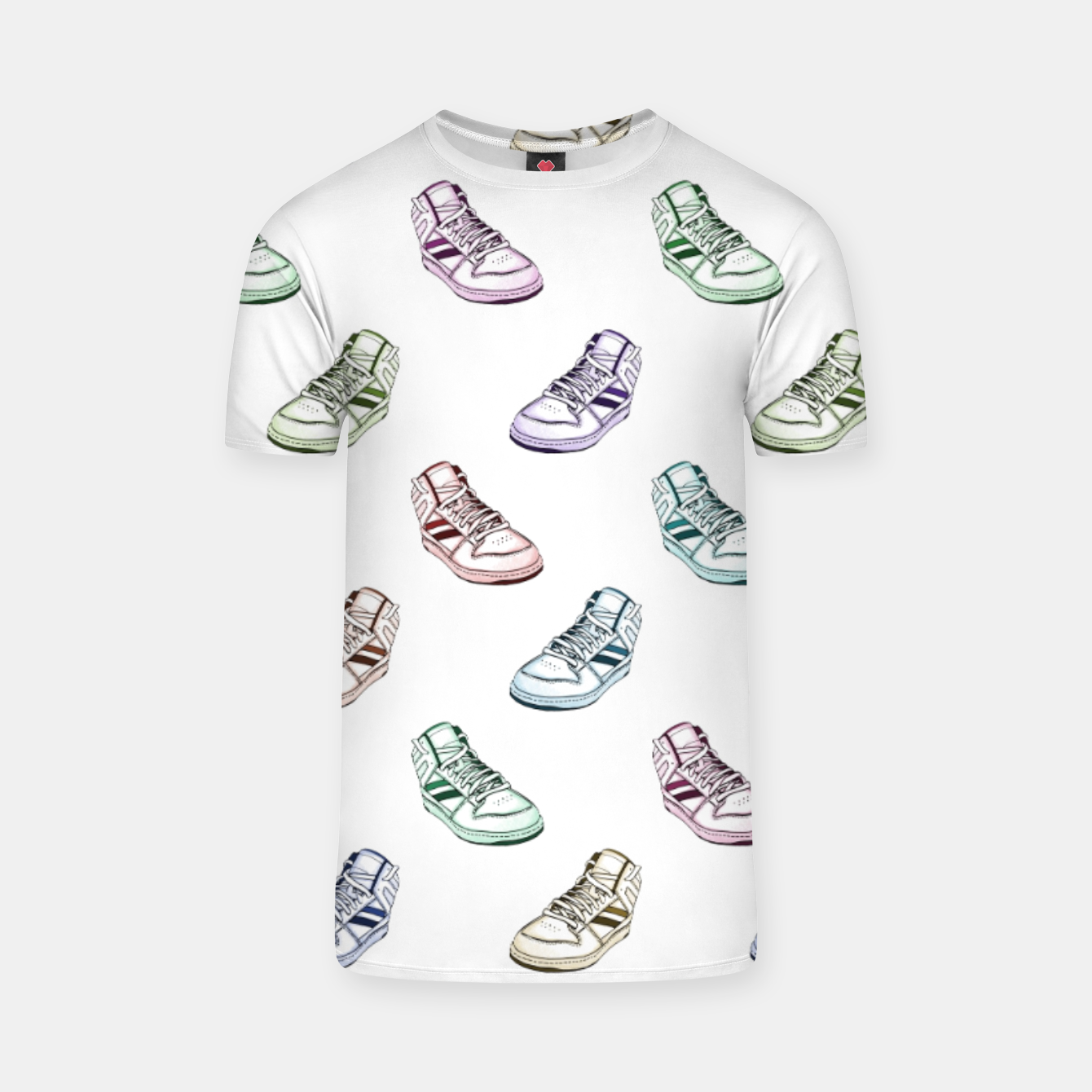 Foto Sneaker White T-Shirt - Live Heroes