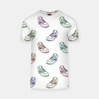 Thumbnail image of Sneaker White T-Shirt, Live Heroes
