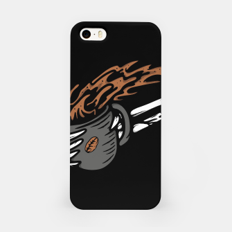 Miniatur Coffee First iPhone Case, Live Heroes