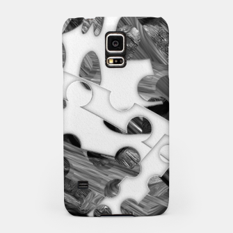Black and white chains  Samsung Case imagen en miniatura