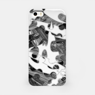 Black and white chains  iPhone Case imagen en miniatura