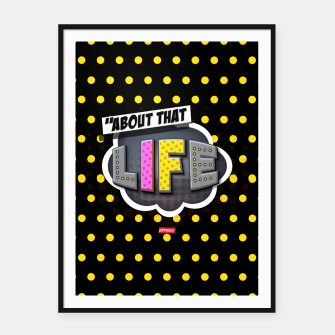 Miniatur About that life  Framed poster, Live Heroes