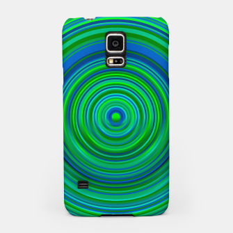 Thumbnail image of Word Spectrum: Hype-Green-Blue Samsung Case, Live Heroes