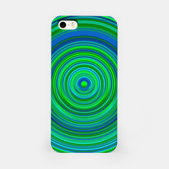 Thumbnail image of Word Spectrum: Hype-Green-Blue iPhone Case, Live Heroes