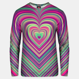 Thumbnail image of Word Spectrum: Hype-Funky-Heart Unisex sweater, Live Heroes