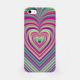 Thumbnail image of Word Spectrum: Hype-Funky-Heart iPhone Case, Live Heroes