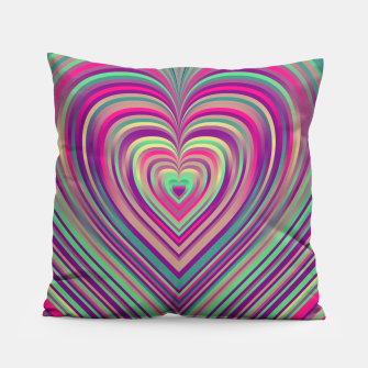 Thumbnail image of Word Spectrum: Hype-Funky-Heart Pillow, Live Heroes