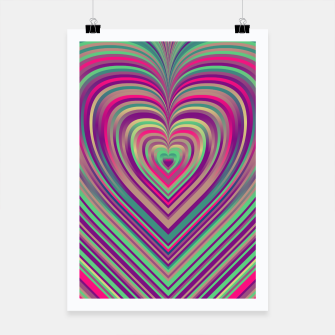 Thumbnail image of Word Spectrum: Hype-Funky-Heart Poster, Live Heroes
