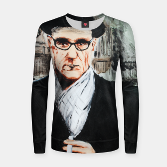 Thumbnail image of Burroughs Women sweater, Live Heroes