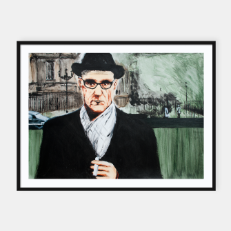 Thumbnail image of Burroughs Framed poster, Live Heroes