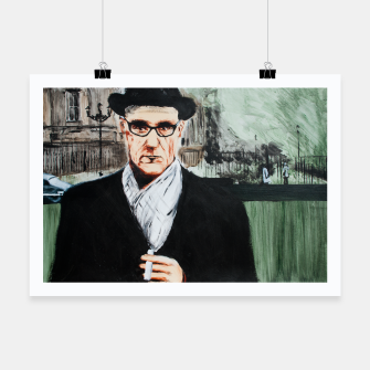 Thumbnail image of Burroughs Poster, Live Heroes