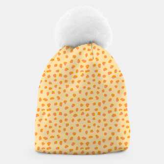 Thumbnail image of Cute saffron pink animal print  Beanie, Live Heroes