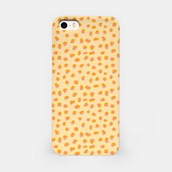 Thumbnail image of Cute saffron pink animal print  iPhone Case, Live Heroes