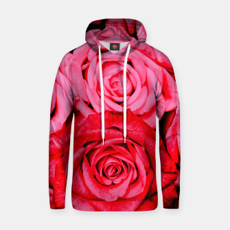 Thumbnail image of Romantic Red Roses Hoodie, Live Heroes