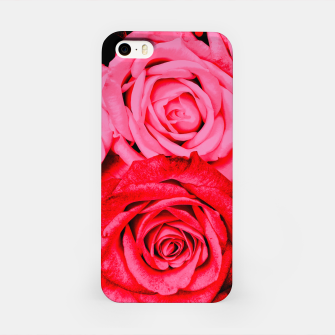 Miniatur Romantic Red Roses iPhone Case, Live Heroes