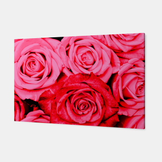 Miniatur Romantic Red Roses Canvas, Live Heroes