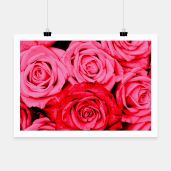 Miniatur Romantic Red Roses Poster, Live Heroes