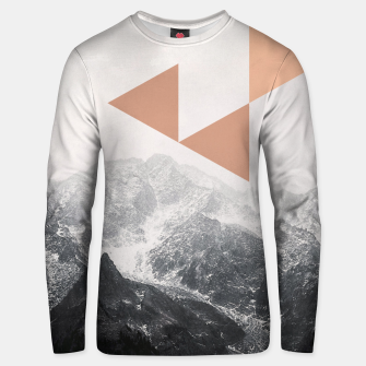 Morning in the Mountains Unisex sweater Bild der Miniatur