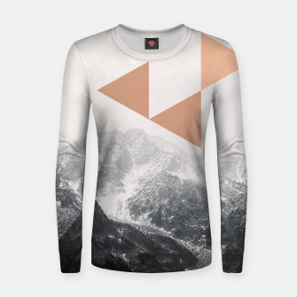 Morning in the Mountains Women sweater Bild der Miniatur