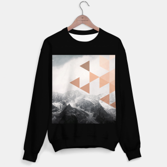 Morning in the Mountains Sweater regular Bild der Miniatur