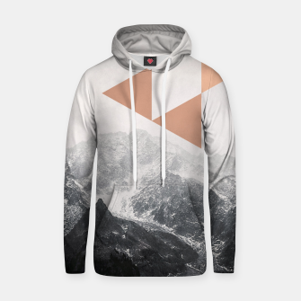 Morning in the Mountains Hoodie Bild der Miniatur