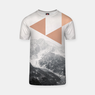 Miniatur Morning in the Mountains T-shirt, Live Heroes