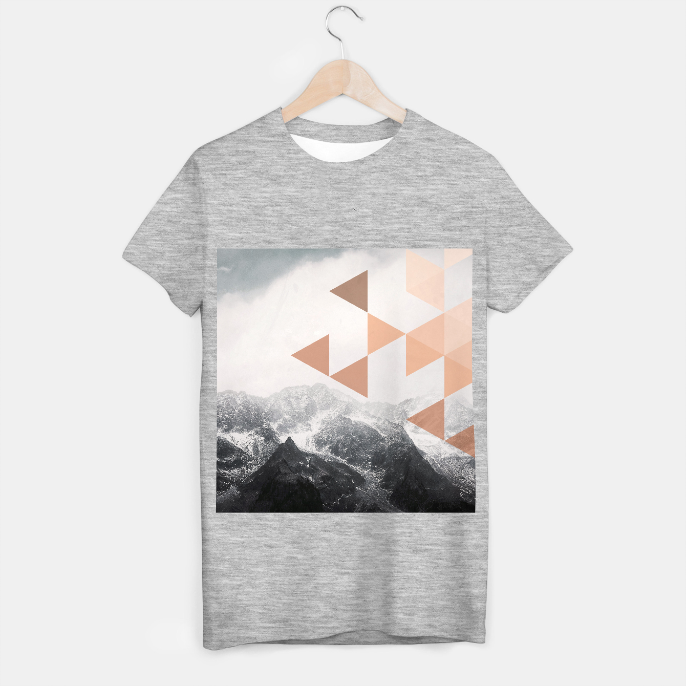 Foto Morning in the Mountains T-shirt regular - Live Heroes