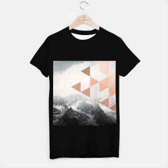 Miniatur Morning in the Mountains T-shirt regular, Live Heroes