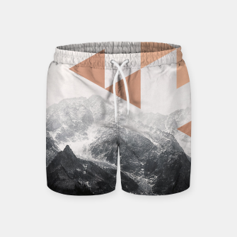 Miniatur Morning in the Mountains Swim Shorts, Live Heroes