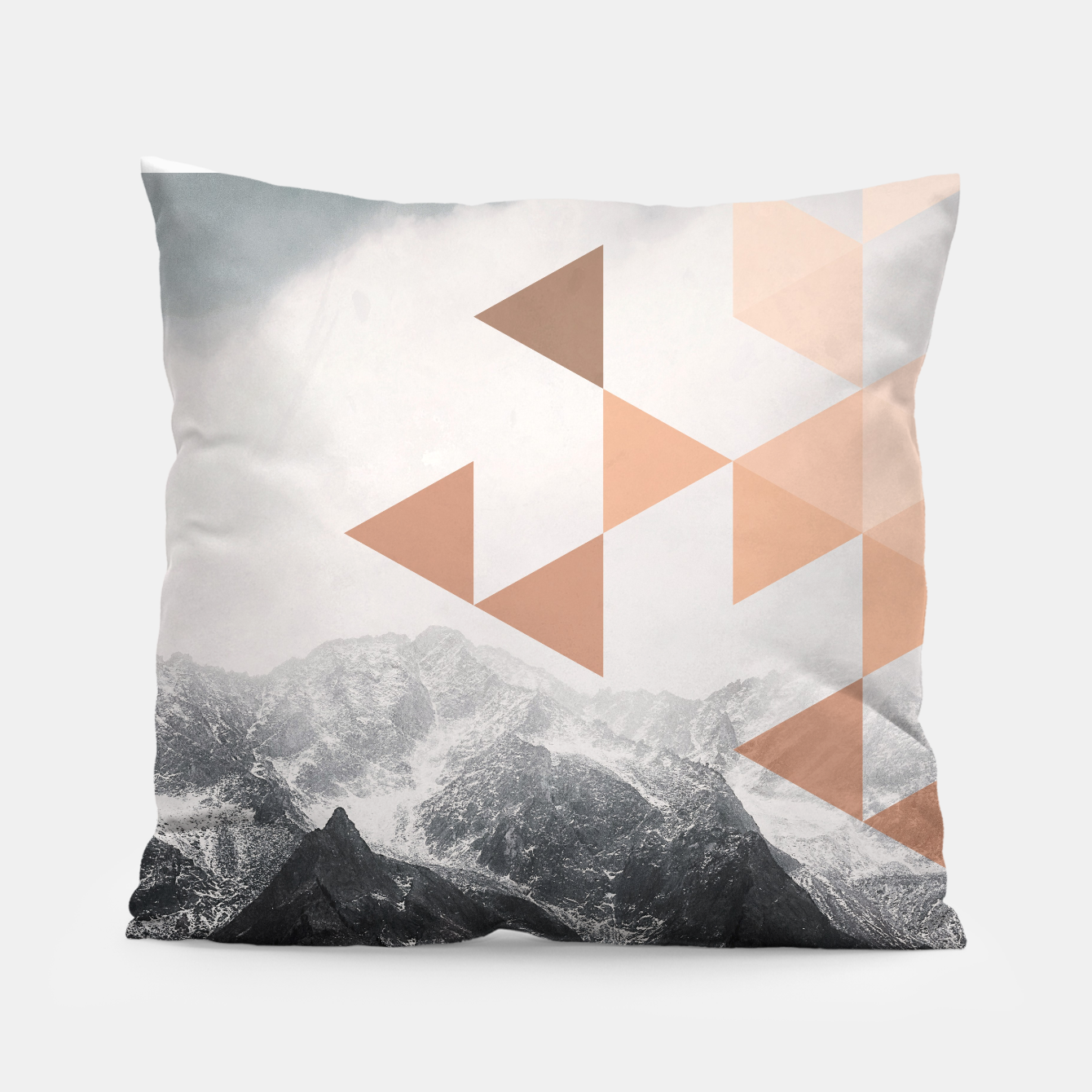 Foto Morning in the Mountains Pillow - Live Heroes